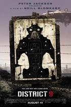 "Poster art for ""District 9."""