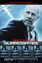 "Poster art for ""Surrogates."""
