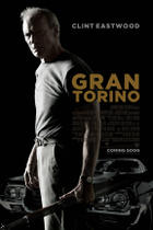 "Poster art for ""Gran Torino."""