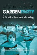 "Poster art for ""Garden Party."""
