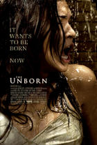 "Poster art for ""The Unborn."""