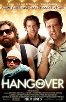 "Poster art for ""The Hangover."""