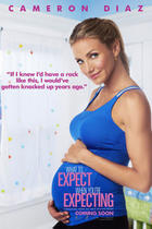 "Poster art for ""What to Expect When You're Expecting."""