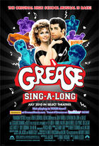 "Poster art for ""Grease."""