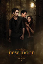 "Poster art for ""New Moon."""