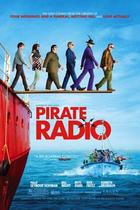 "Poster art for ""Pirate Radio."""