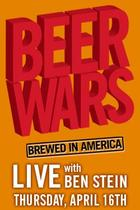 "Poster art for ""Beer Wars Live."""