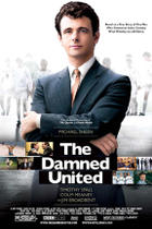 "Poster art for ""The Damned United."""