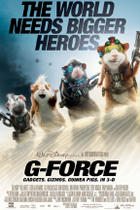 "Poster art for ""G-Force in Disney Digital 3D."""