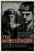 "Poster art for ""The Messenger."""