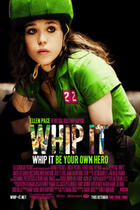 "Poster art for ""Whip It."""