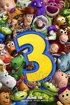 "Poster art for ""Toy Story 3."""