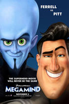 "Poster art for ""Megamind"""