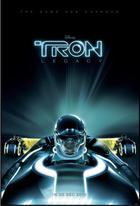 "Poster art for ""Tron: Legacy."""