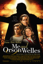 "Poster art for ""Me and Orson Welles."""