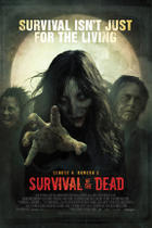 "Poster art for ""Survival of the Dead."""