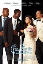 "Poster art for ""Our Family Wedding."""