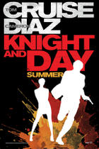 "Teaser poster art for ""Knight and Day."""