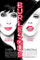 "Poster art for ""Burlesque"""