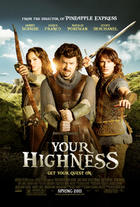 "Poster art for ""Your Highness."""