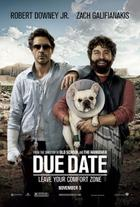 "Poster art for ""Due Date"""