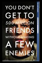 "Poster art for ""The Social Network."""