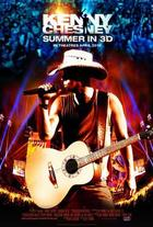 "Poster art for ""Kenny Chesney: Summer in 3D."""