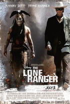 "Poster Art for ""The Lone Ranger."""
