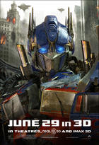 "Poster art for ""Transformers: Dark of the Moon."""