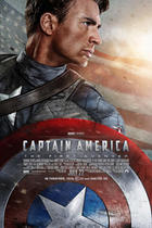 "Poster art for ""Captain America: The First Avenger."""