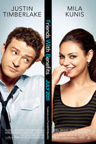 "Poster art for ""Friends with Benefits."""
