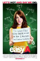 "Poster art for ""Easy A."""