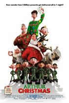 "Poster art for ""Arthur Christmas."""
