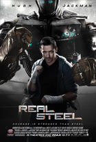 "Poster art for ""Real Steel."""
