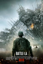 "Poster art for ""Battle: Los Angeles."""