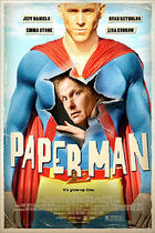 "Poster art for ""Paper Man."""