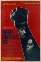 "Poster art for ""Night Catches Us"""