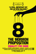 "Poster art for ""8: The Mormon Proposition."""