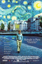 "Poster art for ""Midnight in Paris."""