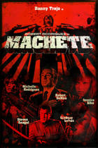 "Poster art for ""Machete."""