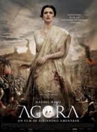 "Poster art for ""Agora."""