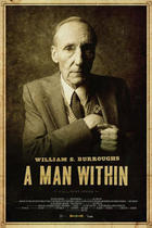 "Poster art for ""William S. Burroughs: A Man Within"""