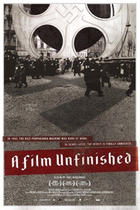 "Poster art for ""A Film Unfinished"""