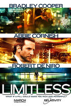 "Poster art for ""Limitless"""