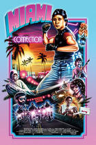 "Poster art for ""Miami Connection."""