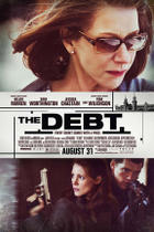 "Poster art for ""The Debt."""