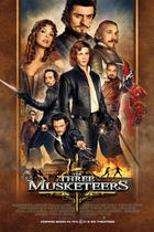 "Poster art for ""The Three Musketeers."""
