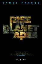 "Teaser poster for ""Rise of the Planet of the Apes."""