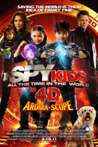 "Poster Art for ""Spy Kids: All the Time in the World."""