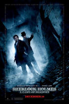 "Poster art for ""Sherlock Holmes: A Game of Shadows."""